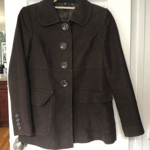 Gap Brown Pea Coat